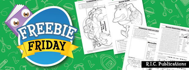 Freebie Friday - Awesome Christmas activities
